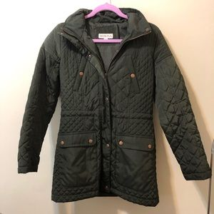 Merona Quilted Puffer Jacket (hooded)
